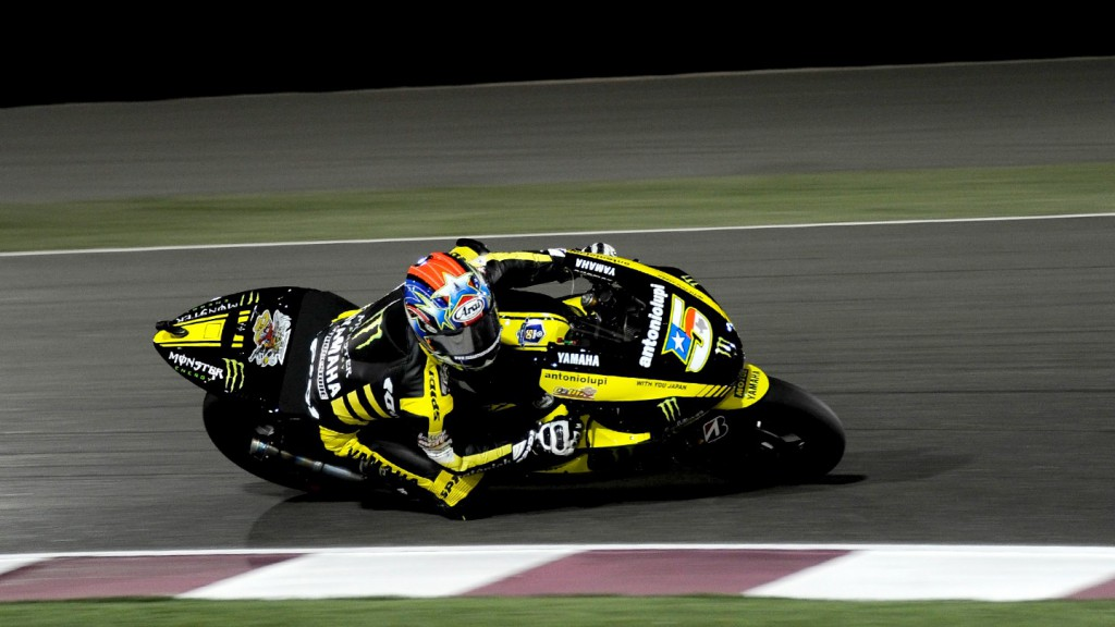 Colin Edwards , Monster Yamaha Tech 3, Qatar Race