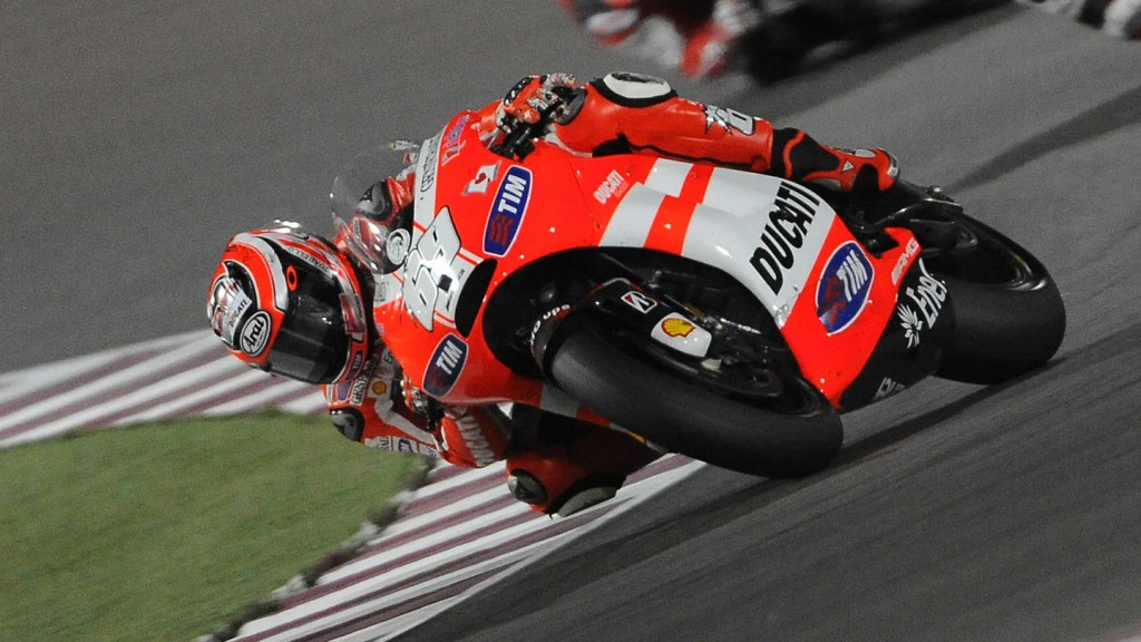 Nicky Hayden, Ducati Team, Qatar Race