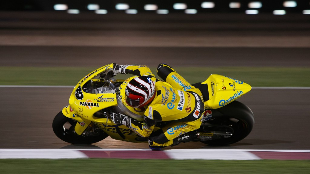 Kev Coghlan, Aeroport de Castello, Qatar Race