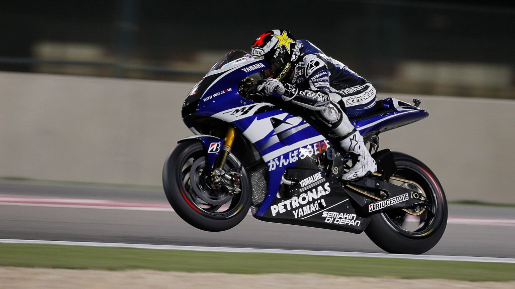 Jorge Lorenzo, Yamaha Factory Racing, Qatar Warm Up
