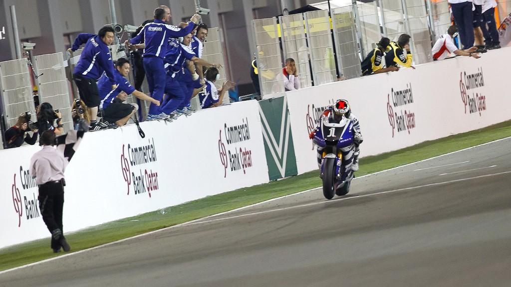 Jorge Lorenzo, Yamaha Factory Racing, Qatar Race