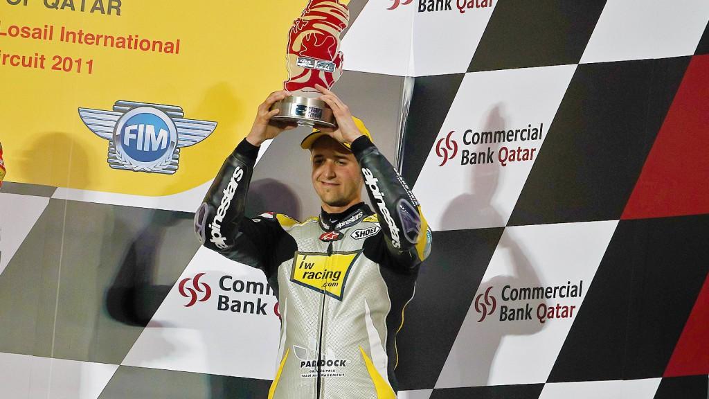 Thomas Luthi, Interwetten Paddock Moto2, Qatar Race