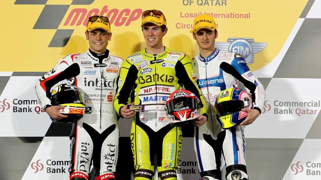 Cortese, Terol, Gadea, Qatar Race