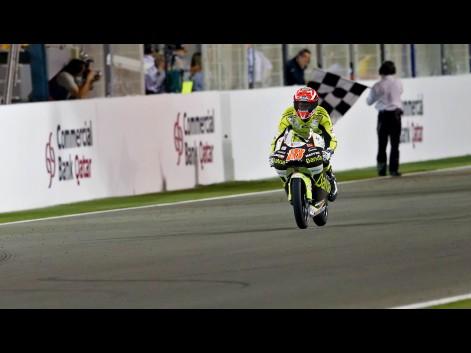 MotoGP 2011 Qatar 125cc Nico Terol