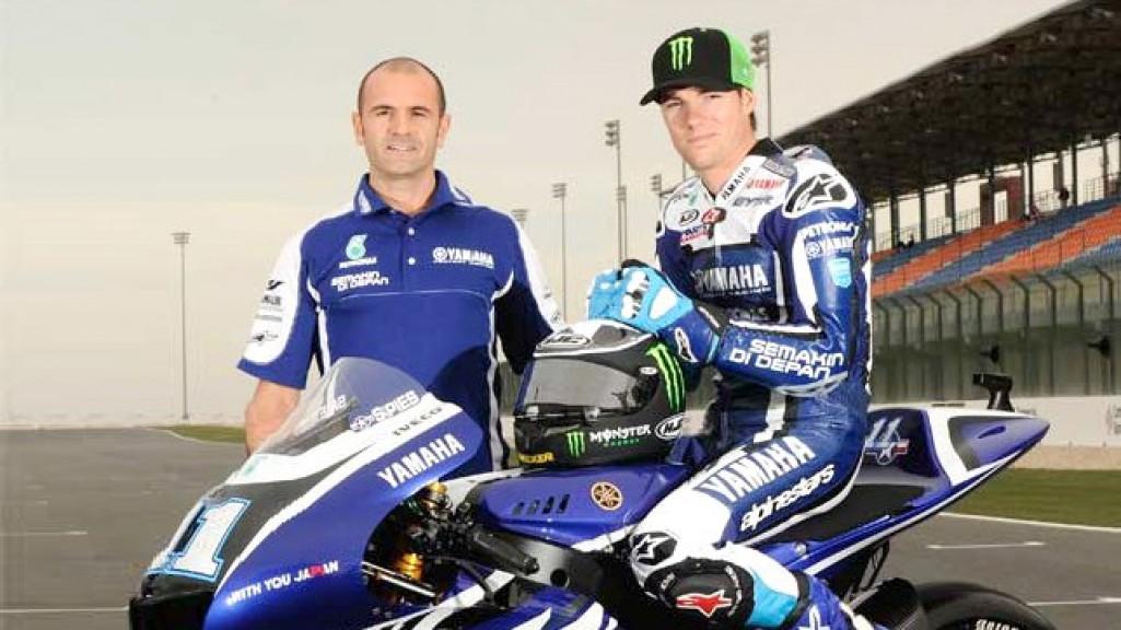 Massimo Meregalli, Ben Spies, Yamaha Factory Racing