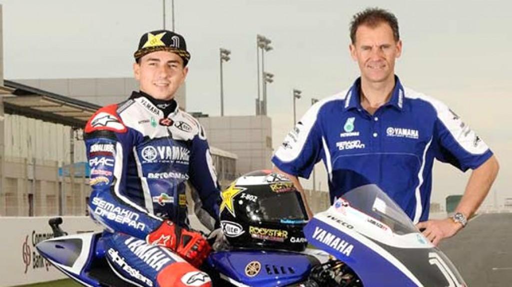 Wilco Zeelenberg, Jorge Lorenzo, Yamaha Factory Racing
