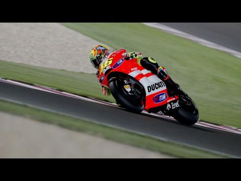 valentino rossi ducati qatar. Valentino Rossi, Ducati Team,