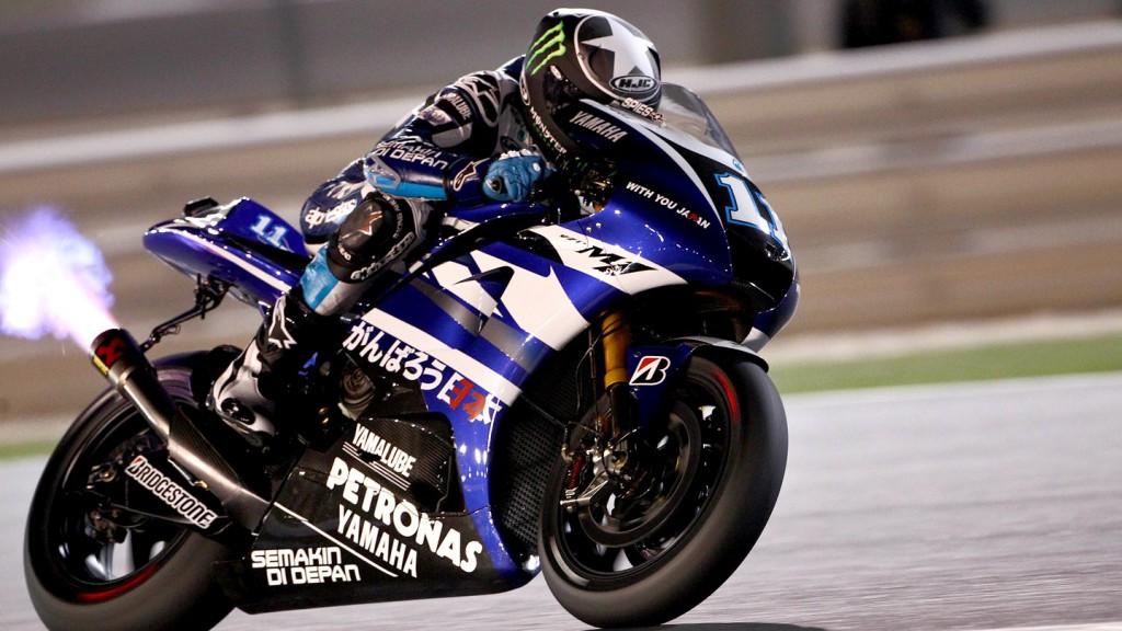 Ben Spies, Yamaha Factory Racing, Qatar Race