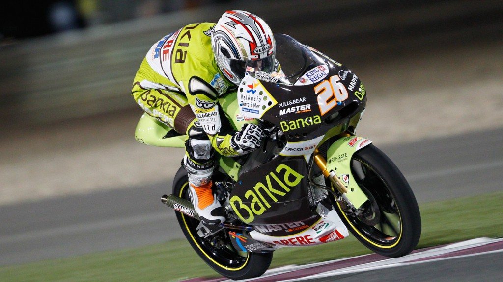 Adrian Martin, Bankia Aspar Team 125cc, Qatar Race