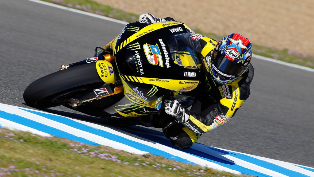 Colin Edwards, Monster Yamaha Tech 3, Jerez FP2