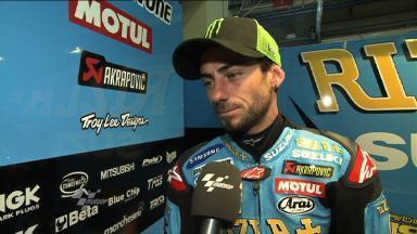 Hopkins happy to be back in MotoGP