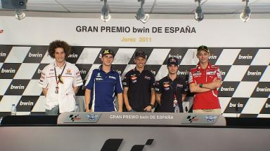 GP bwin de España pre-event press conference