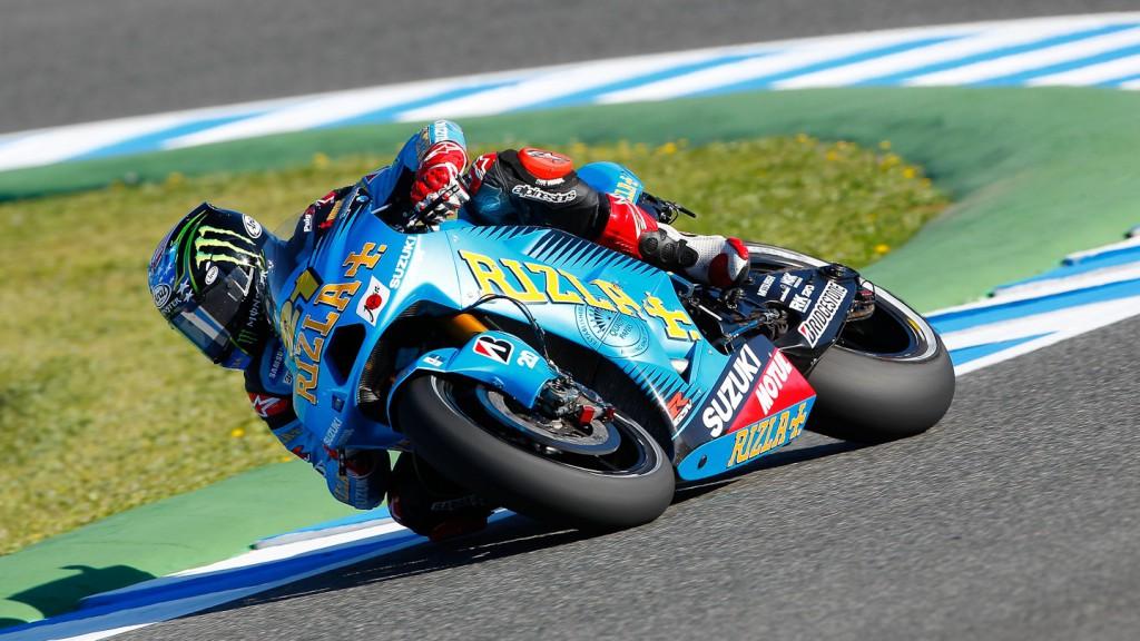 John Hopkins, Rizla Suzuki MotoGP, Jerez FP1