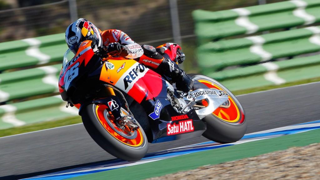 Dani Pedrosa, Repsol Honda Team, Jerez FP1