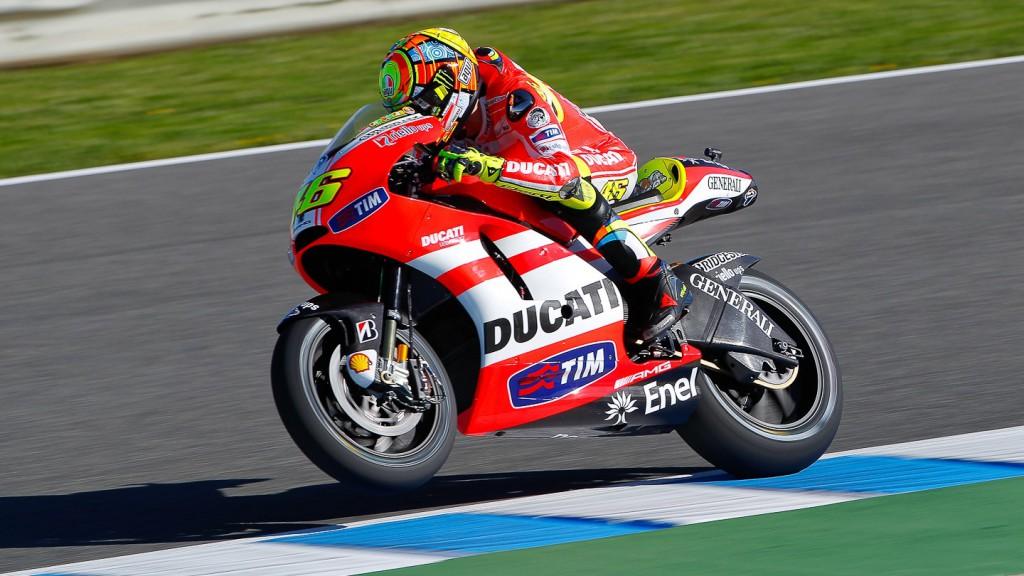Valentino Rossi, Ducati Team, Jerez FP2