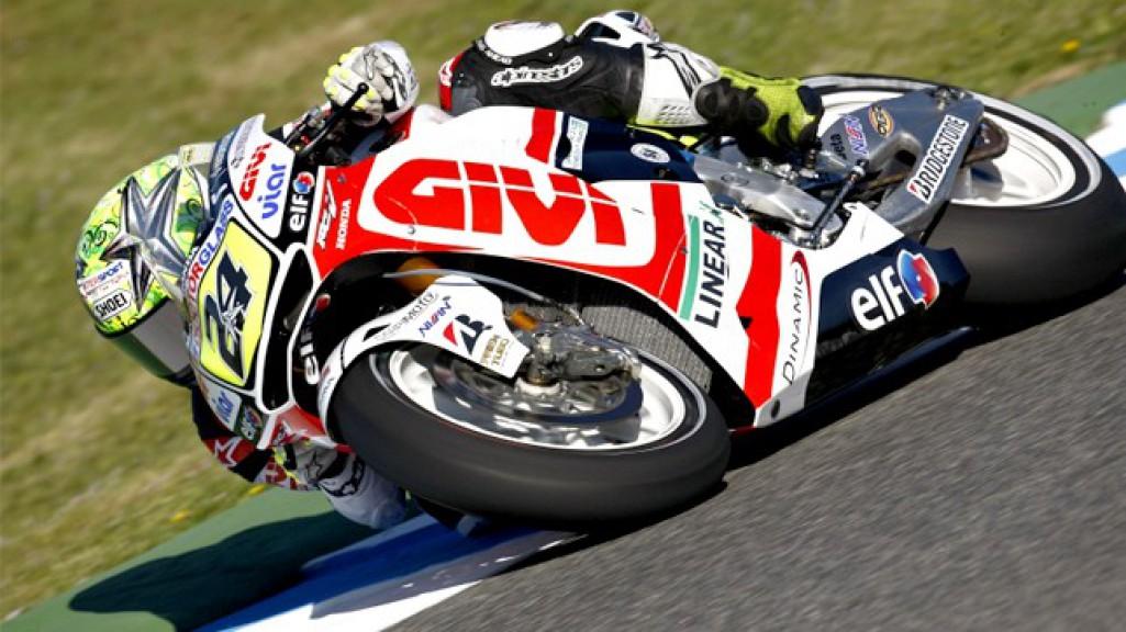 Toni Elias, LCR Honda MotoGP, Jerez FP2
