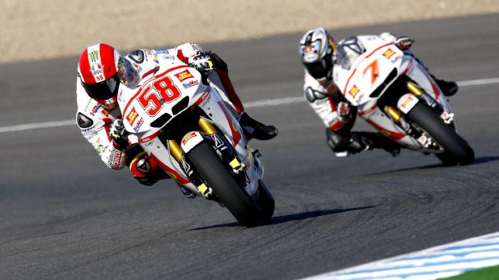 Marco Simoncelli, Hiroshi Aoyama, San Carlo Honda Gresini, Jerez FP2
