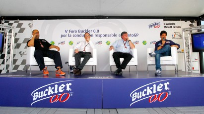 Buckler safe driving campaign starts at Jerez