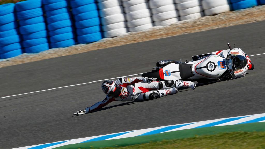Yuki Takahashi, Gresini Racing Moto2, Jerez FP1