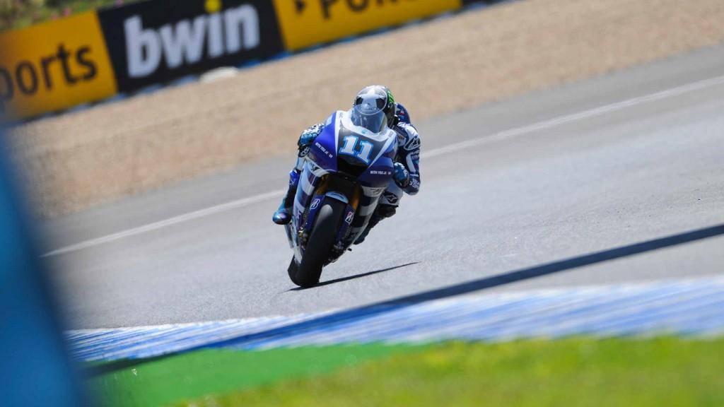 Ben Spies, Yamaha Factory Racing, Jerez QP