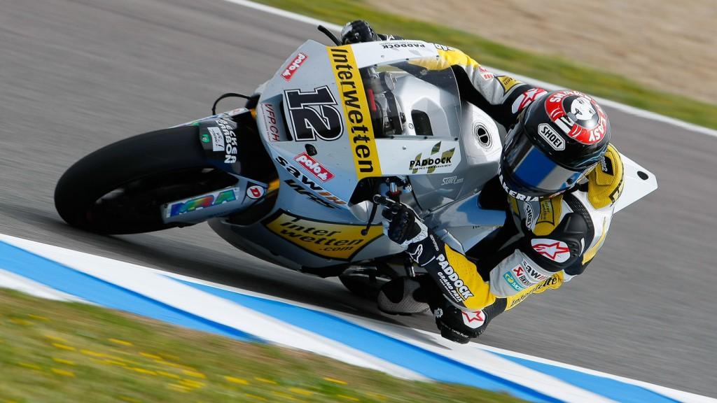 Thomas Luthi, Interwetten Paddock Moto2, Jerez QP