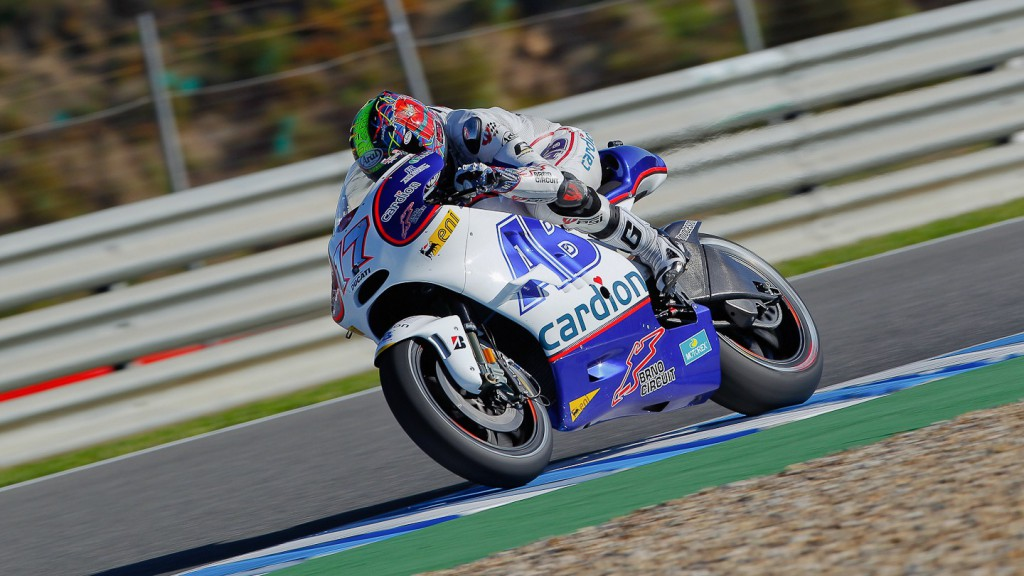Karel Abraham, Cardion AB Motoracing, Jerez QP