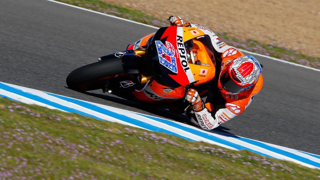 Casey Stoner, Repsol Honda Team, Jerez FP3