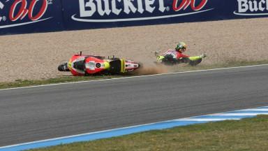 Valentino Rossi, Ducati Team, Jerez QP - Courtesy of Minarelli