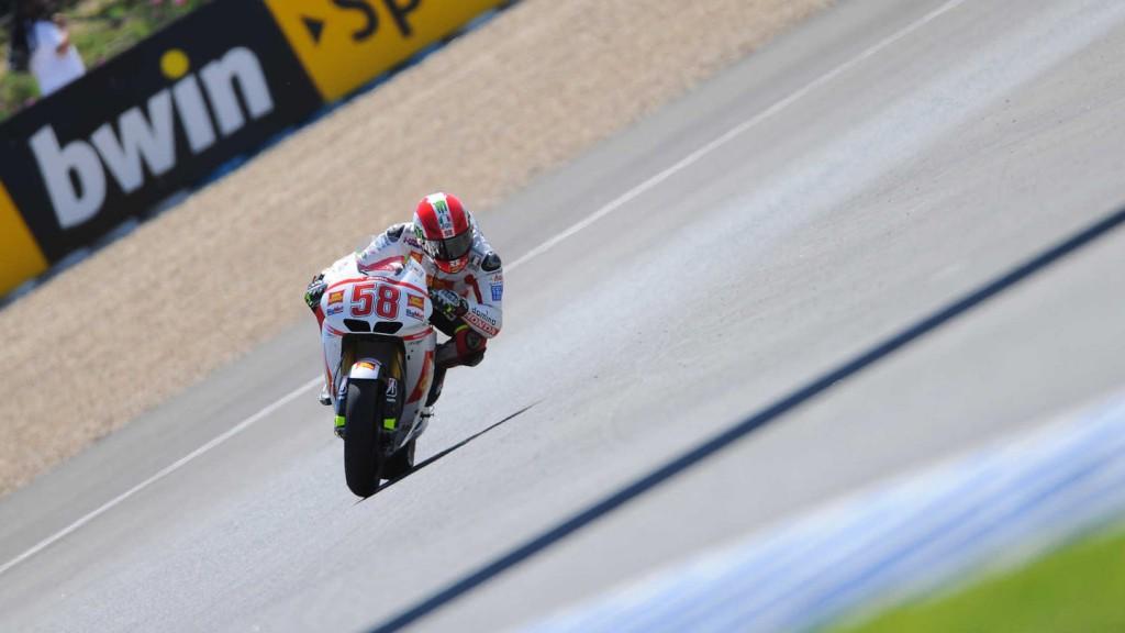 Marco Simoncelli, San Carlo Honda Gresini, Jerez QP