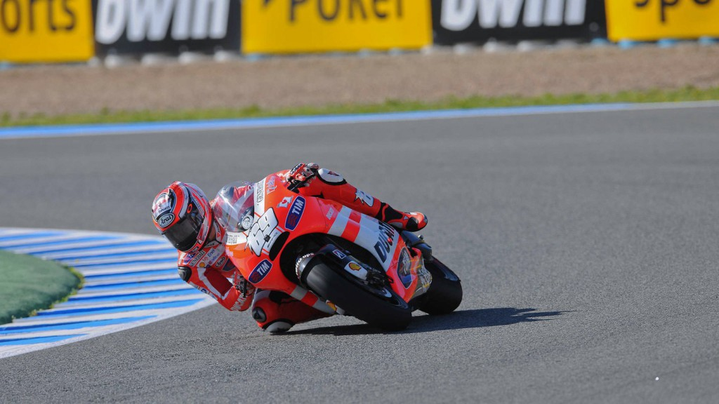 Nicky Hayden, Ducati Team, Jerez QP