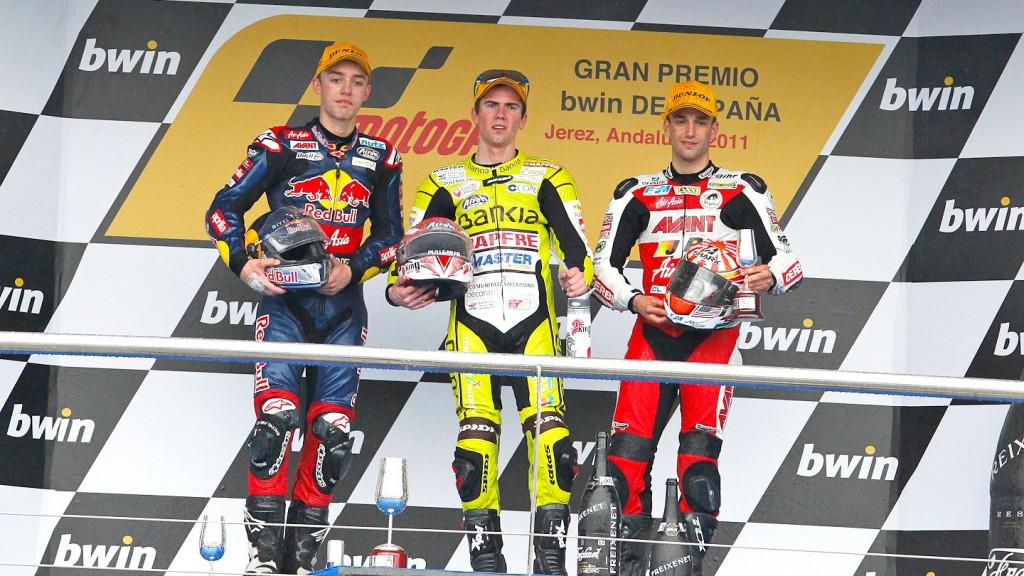 Terol, Folger, Zarco, Jerez Race