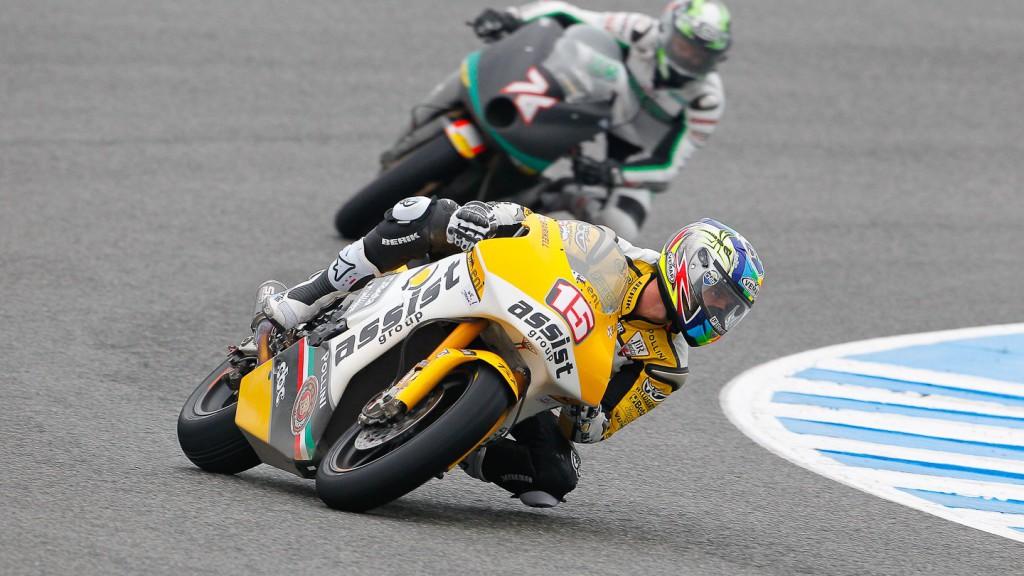 Alex de Angelis, JiR Moto2, Jerez Race