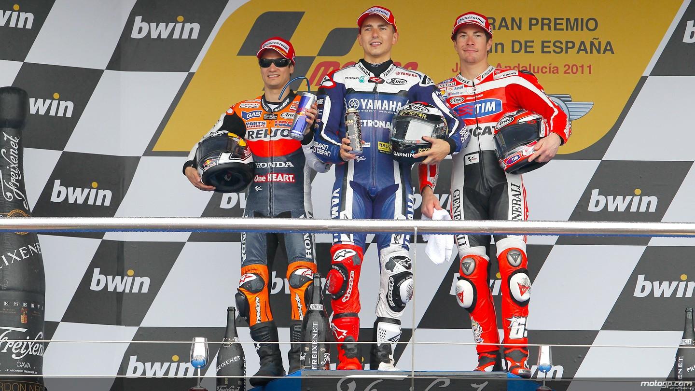 Las mejores imagenes del moto GP