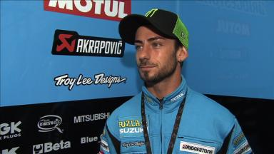 Hopkins reviews eventful MotoGP comeback race