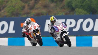 Karel Abraham, Hiroshi Aoyama, Jerez Race