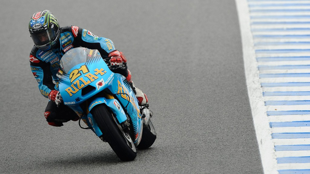 John Hopkins, Rizla Suzuki MotoGP, Jerez Race