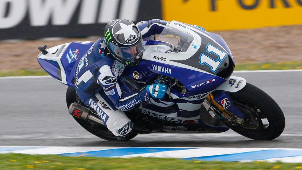 Ben Spies, Yamaha Factory Racing, Jerez Race