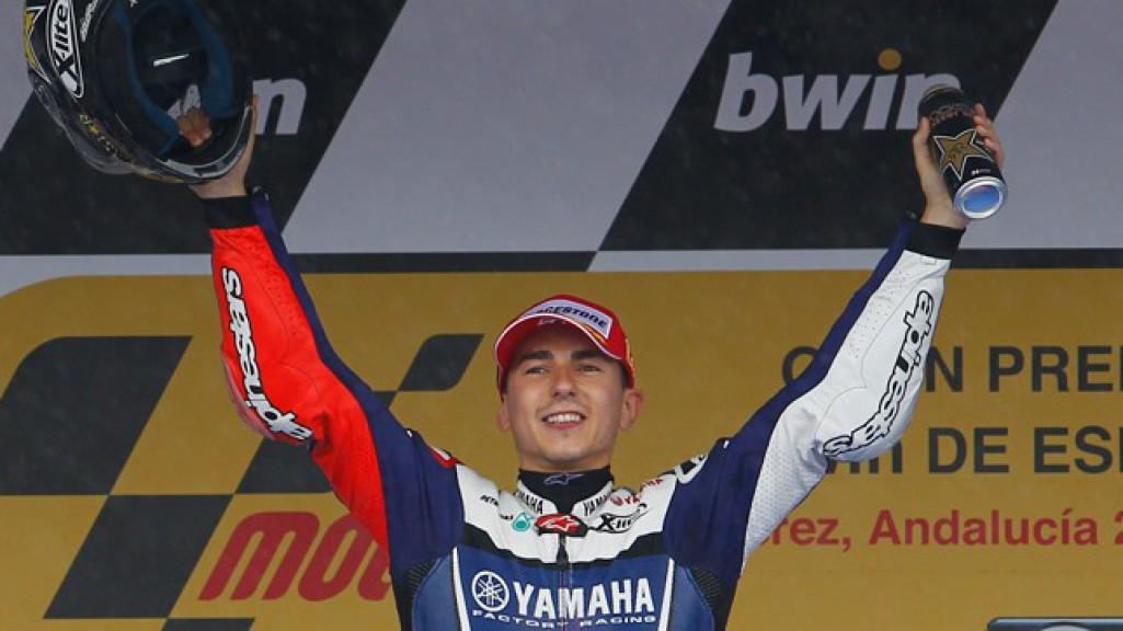 Jorge Lorenzo, Yamaha Factory Racing, Jerez Race