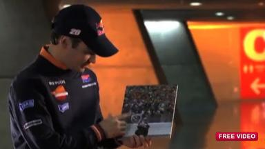 Dani Pedrosa celebrates 10 years in Grand Prix racing