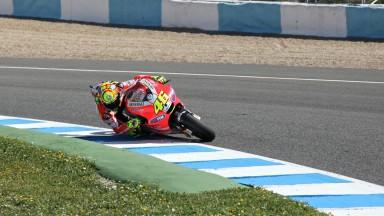 Valentino Rossi, Ducati Desmosedici GP12, Jerez Circuit
