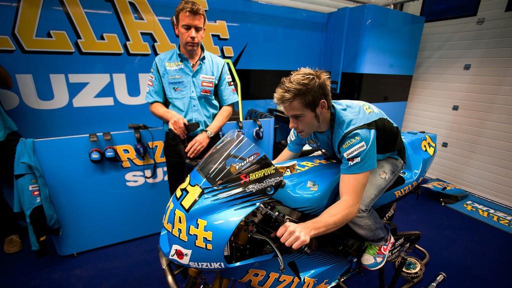 Alvaro Bautista, Rizla Suzuki MotoGP, Jerez