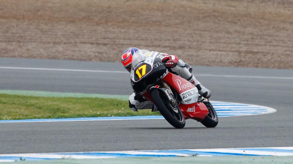 Taylor Makenzie, Phonica Racing, Jerez Race