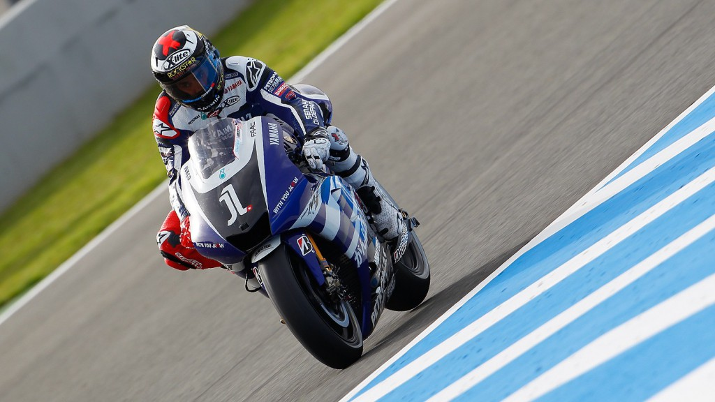 Jorge Lorenzo, Yamaha Factory Racing, Jerez FP3