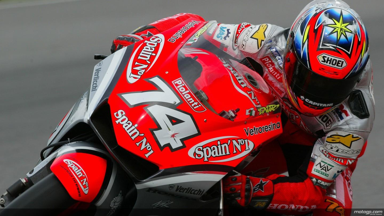 motogp.com · Daijiro Kato, Sachsenring Circuit, 2002