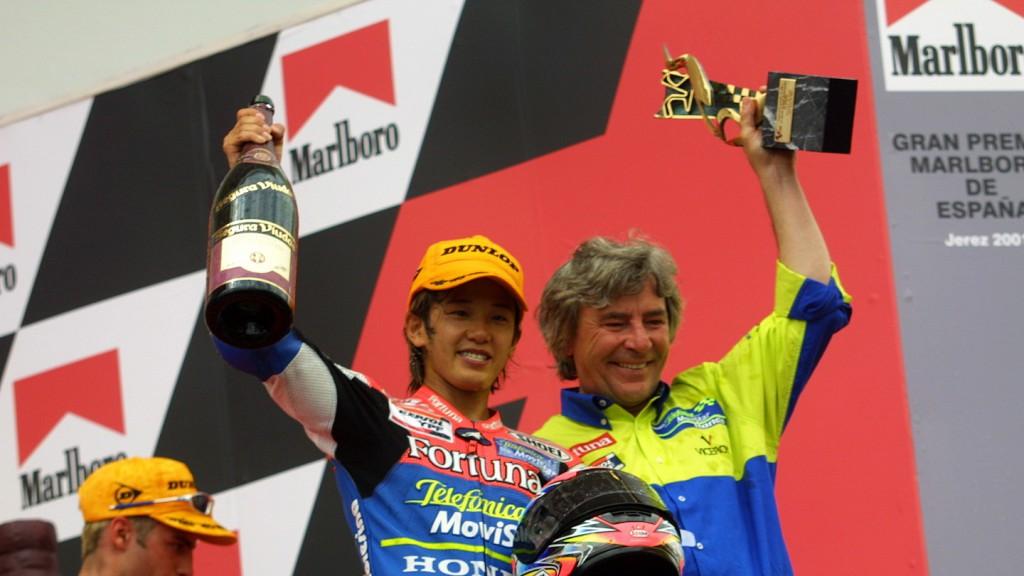 Daijiro Kato, Jerez Circuit, 2001