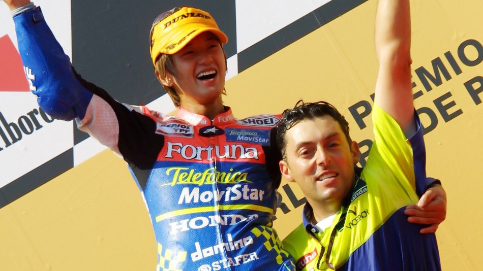 Daijiro Kato, Estoril Circuit, 2001