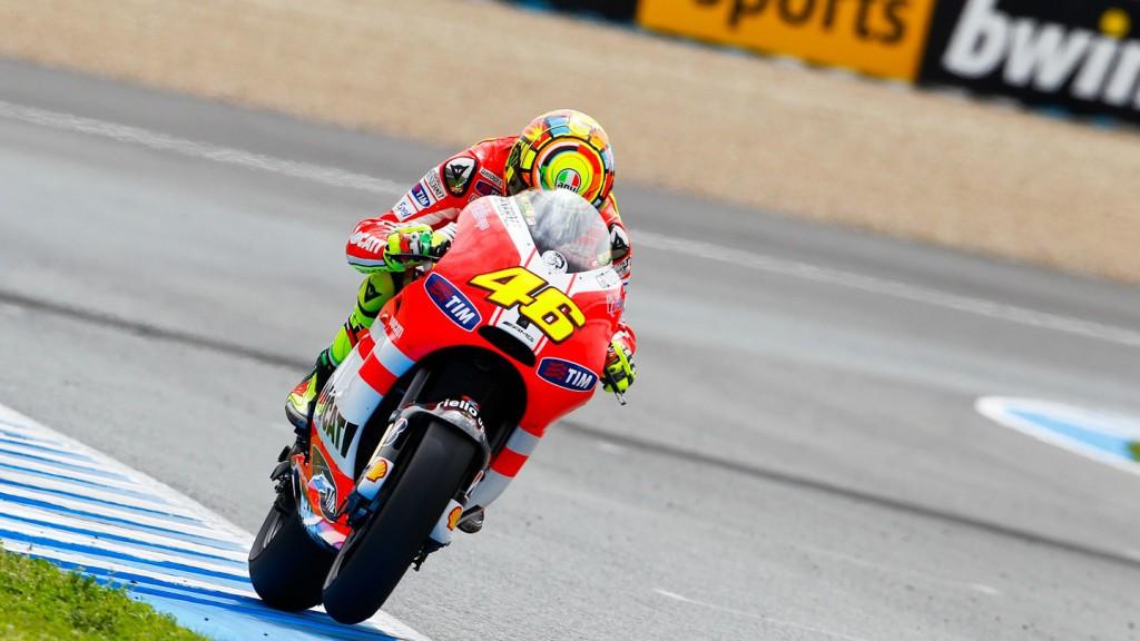 Valentino Rossi, Ducati Team, Jerez