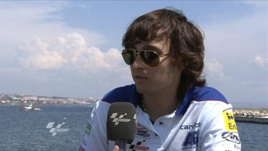 Estoril 2011 - MotoGP -  Preevent - Interview - Karel Abraham