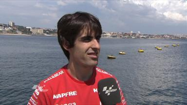 Estoril 2011 - Moto2 -  Preevent - Interview - Julian Simon