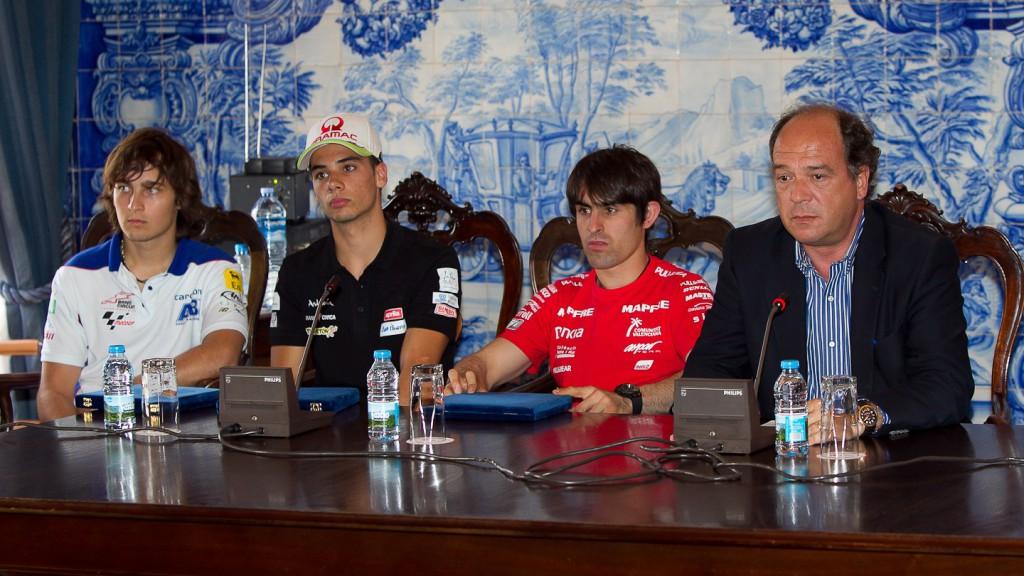 Abraham, Simon, Oliveira, Mayor of Cascais Carlos Carreiras, Estoril